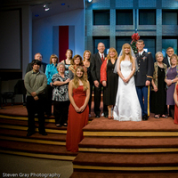 Bride, Groom, Family, Brides family, Church, Steven gray photography