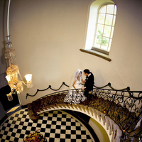 Reception, Flowers & Decor, gold, Wedding, Couple, Beautiful, Pasadena, Staircase