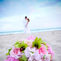 Flowers & Decor, Beach, Bride Bouquets, Flowers, Beach Wedding Flowers & Decor, Bouquet, Portrait, Wedding, Acuna photography
