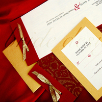 Stationery, red, gold, invitation, Bride, Invitations, Design, Suite, Bride design
