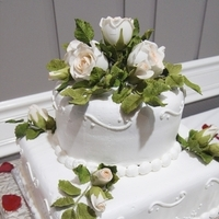 Cakes, cake, Cake cutting, Sugar paste flowers