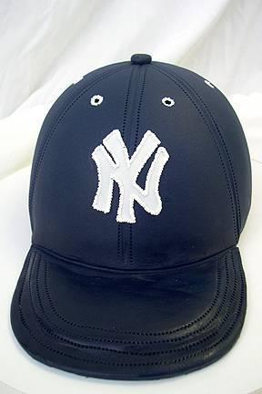 Grooms cake, Baseball, Hat, Yankees