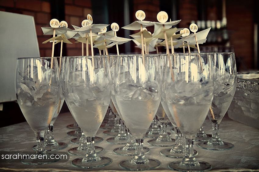 Monogram, Lemonade, Kate miller events, Drink umbrellas