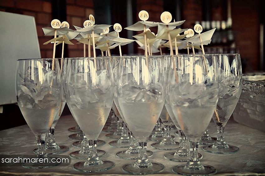 Monogram, Lemonade, Kate miller events, Drink umbrellas