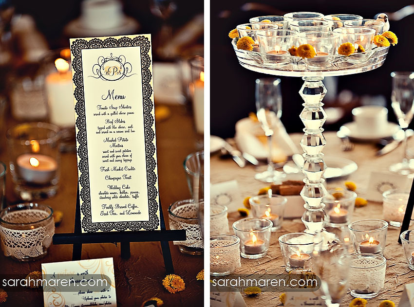 Vintage, Candles, Menu Cards, Centerpiece, Menus, Birds, Crystal, Chandelier, Kate miller events, Non-floral centerpieces