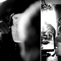 white, black, Bride, And, Getting, Ready, Fino photography