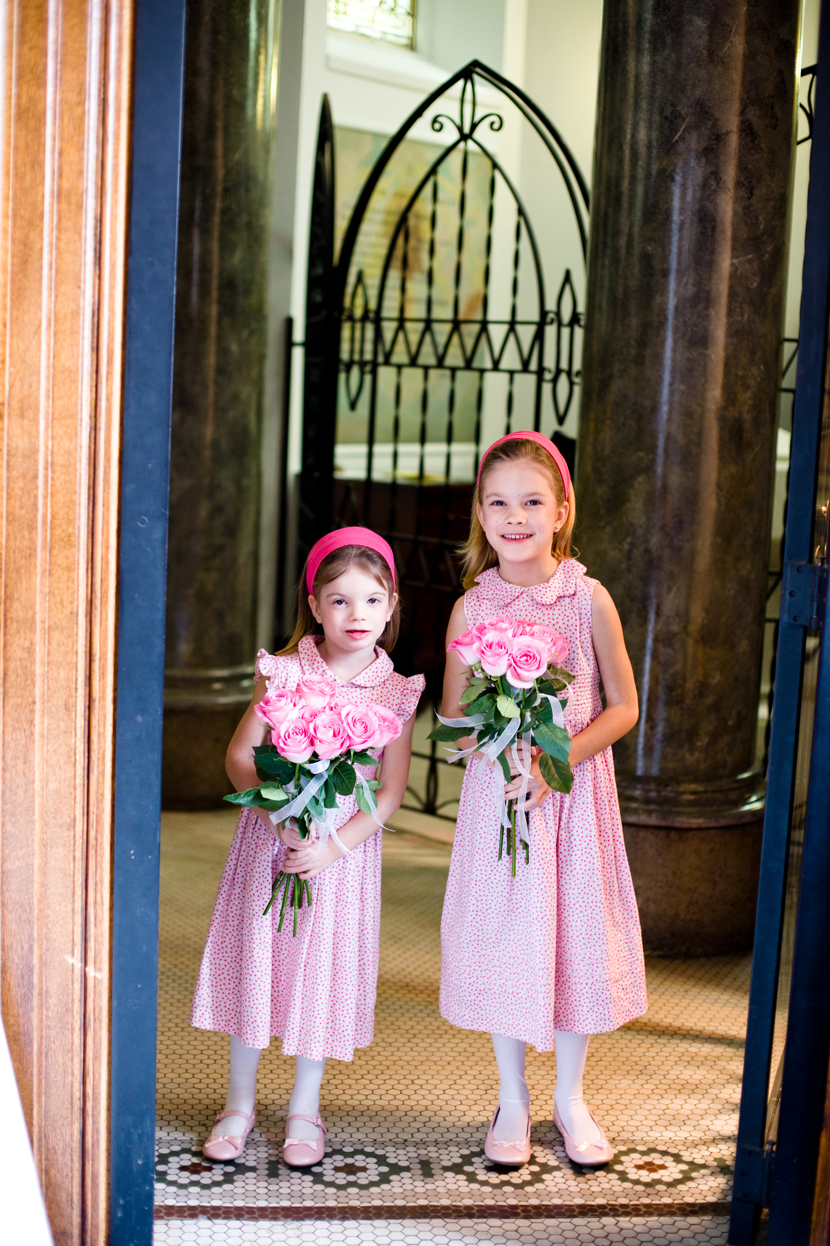 Ceremony, Flowers & Decor, pink, Flower girl