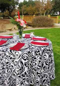 Registry, white, black, silver, Place Settings, And, Linen, Plates, Charger, Bella- couture wedding lines, chair covers 100 charger plates rental