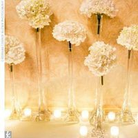 white, Ceremony Flowers, Classic Wedding Flowers & Decor