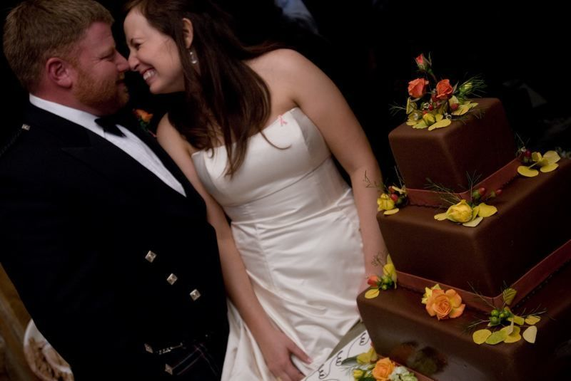 Cake cutting, Chocolate, Wedding cake, Fall wedding, Custom weddings of colorado, Chocolate cake