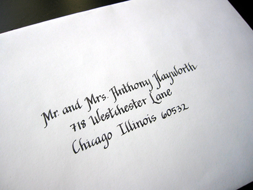 Calligraphy, Stationery, Invitations, Cards, Escort, Place, Calligrapher, Addresses, Calligraphy by nina