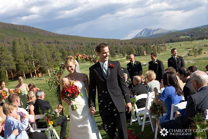 Ceremony, Flowers & Decor, Summer, Wedding, Outside, Mountain, Custom weddings of colorado