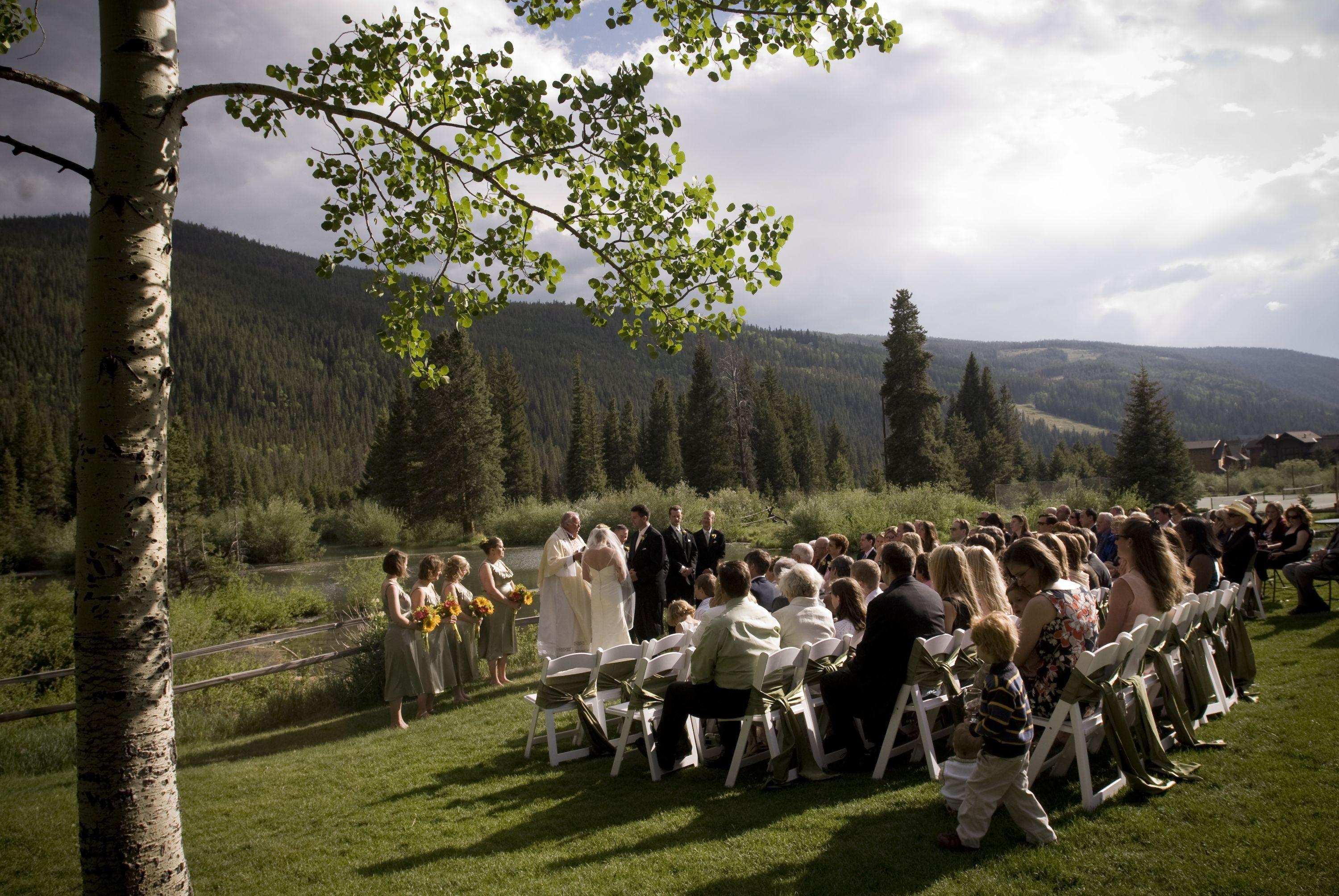 red, Fall, Wedding, Mountain, Keystone, Custom weddings of colorado