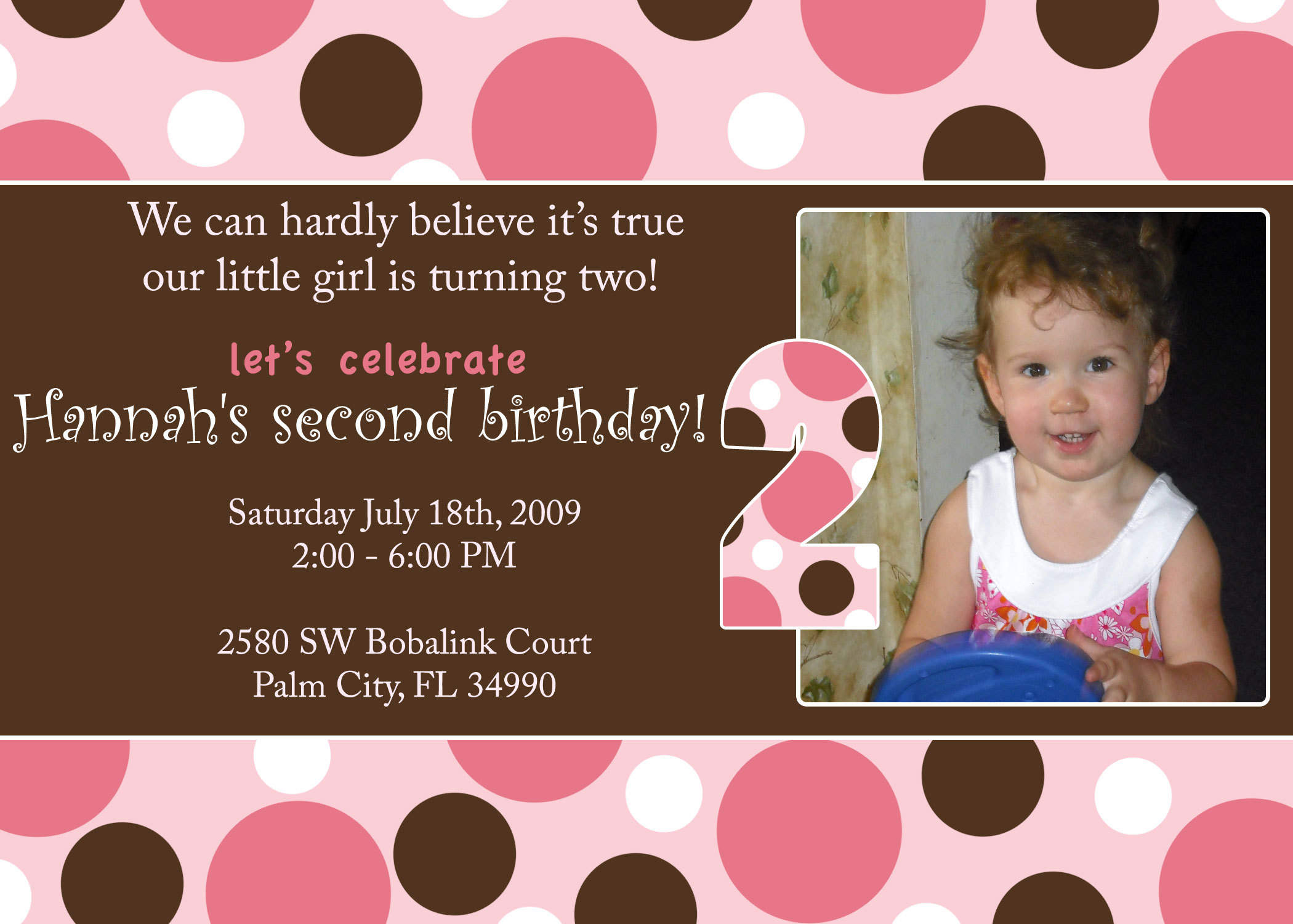 Stationery, pink, brown, Invitations, And, Dots, Polka, Divine designs llc
