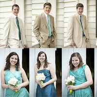 Bridesmaids, Bridesmaids Dresses, Fashion, Groomsmen, Non-matchy