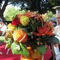 Flowers & Decor, yellow, orange, red, Centerpieces, Flowers, Centerpiece, Fruit