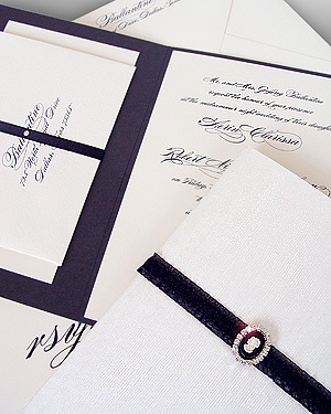 Stationery, invitation, Invitations, Wedding, Custom, Couture, Embellished, Carciofi design