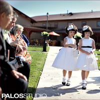 Beauty, Ceremony, Flowers & Decor, Flower Girls, white, black, Headbands, Orchid, Headband, Wwwreflectionseventdesigncom
