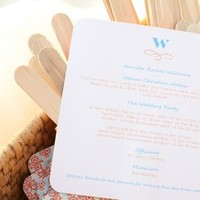 Stationery, Ceremony Programs, Program, Adorn studio llc