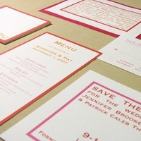 Stationery, Invitations, Save-the-Dates, Menu, The, Save, Date, You, Thank, Note, Lime paper expressions