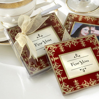 Favors & Gifts, red, gold, Favors, Wedding, And, Asian, Looking, Themed, Coaster, Stylish, Practical, Eastern, Middle, Expensive, Vida favors, an exclusive kate aspen shops retailer