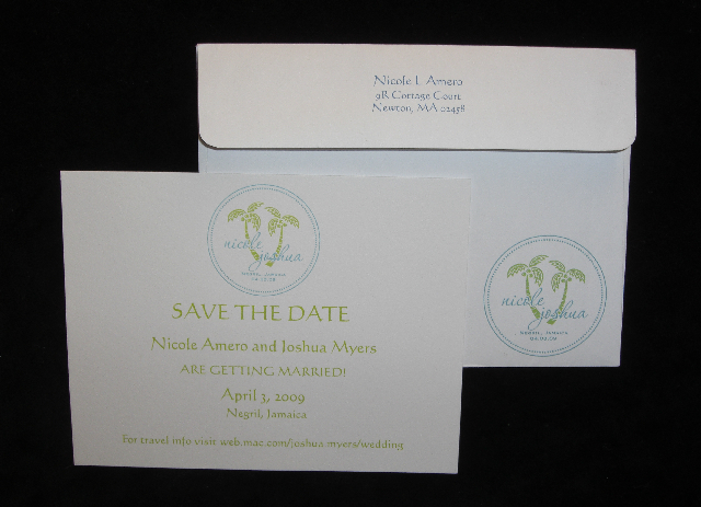 Stationery, Destinations, white, blue, green, invitation, Invitations, Thank You Notes, Save the date, Custom, Destination, Teal, Thank you card, Decorative, Personalize, Double trouble designs-custom monograms and more, Double trouble designs