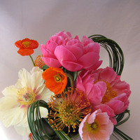 Flowers & Decor, Centerpieces, Flowers, Centerpiece, Wedding, With, Peonies, Sonoma, Viola floral design