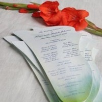 Stationery, Ceremony Programs, Programs, Wedding, Calla, Program, Fan, Lily, Concepts ii completion