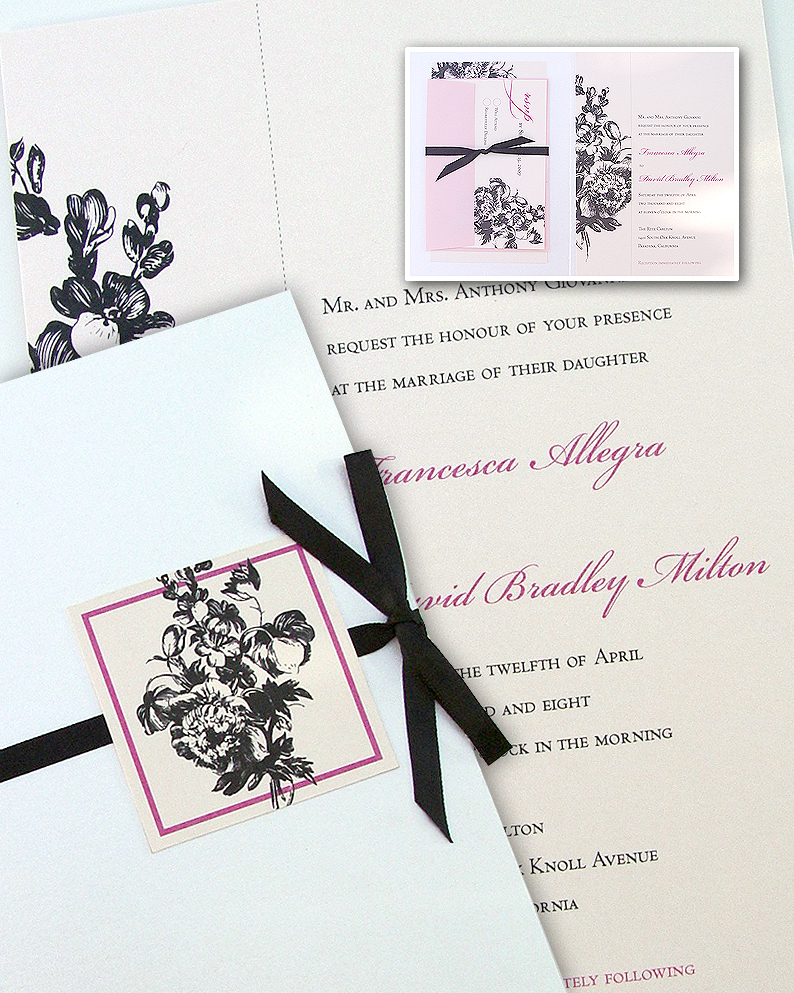 Stationery, Invitations, Wedding, Custom, Yourself, Carciofi design, Assemble