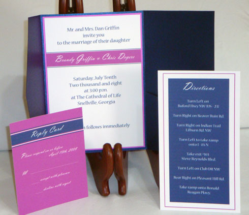 Stationery, Paper, Modern Wedding Invitations, Invitations, Reply Cards, Weddings, Products, Atlanta, Rile products llc