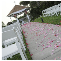Ceremony, Flowers & Decor, Decor, Gazebo, Petals, Aisle