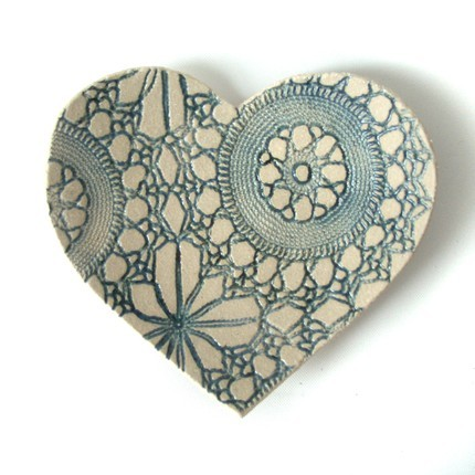 Flowers & Decor, Decor, Favors & Gifts, blue, favor, Gift, Table, Cream, Ringbearer, Decoration, Bowl, Keepsake, Heart, Handmade, Prince design uk, Heart-shaped