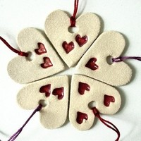 Favors & Gifts, Favors, Wedding, Decorations, Hearts, Ceramic, Prince design uk