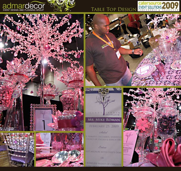 Reception, Flowers & Decor, Decor, Photography, Destinations, pink, purple, brown, silver, gold, North America, Centerpieces, Flowers, Centerpiece, Cards, Wedding, Table, Book, Guest, Photos, Logo, Cream, Lavender, Design, Event, Sparkle, Sign-in, Miami, Bling, Diamonds, Admardecor event design planning group