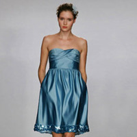 Bridesmaids, Bridesmaids Dresses, Wedding Dresses, Fashion, blue, dress, Sweet, Melissa