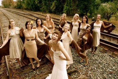 Bridesmaids, Bridesmaids Dresses, Vintage Wedding Dresses, Fashion, ivory, Vintage, Champagne, Beige, Dresses, Different, Casual, Earthy