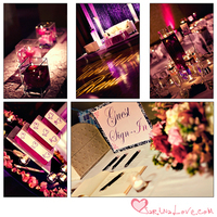 La design boutique, Table number cards, Guest sign-in