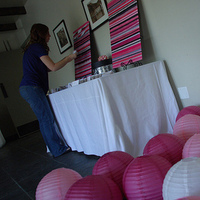 white, pink, black, Escort, Table, Lanterns, Card, In the clouds events