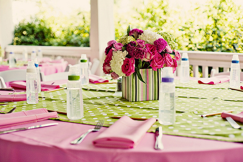 pink, green, And, Baby, Shower, Jesi haack weddings