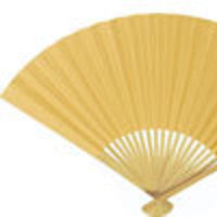 Favors & Gifts, Paper, yellow, favor, Summer, Fan, Neutral