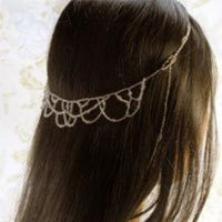 Beauty, Jewelry, Tiaras, Headbands, Accessories, Hair, Tiara, Elegant, Crystal, Accessory, Headband, Beaded, Beads, Circlet, Blue flourish