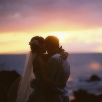 Destinations, Hawaii, Bride, Groom, Couple, Sunset, Smitten photography hawaii
