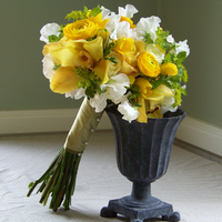Flowers & Decor, white, yellow, green, Bride Bouquets, Flowers, Bouquet, Floral verde llc