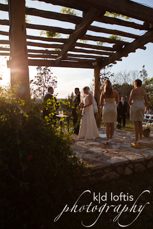 Ceremony, Flowers & Decor, Sunset, Kd loftis photography