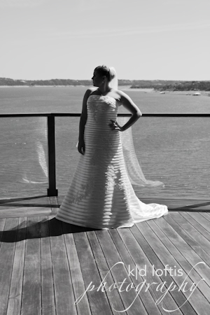 white, black, Bridal, Lake, Travis, Kd loftis photography