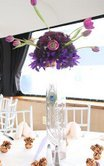 Beauty, Feathers, Centerpieces, Peacock, Bella blooms