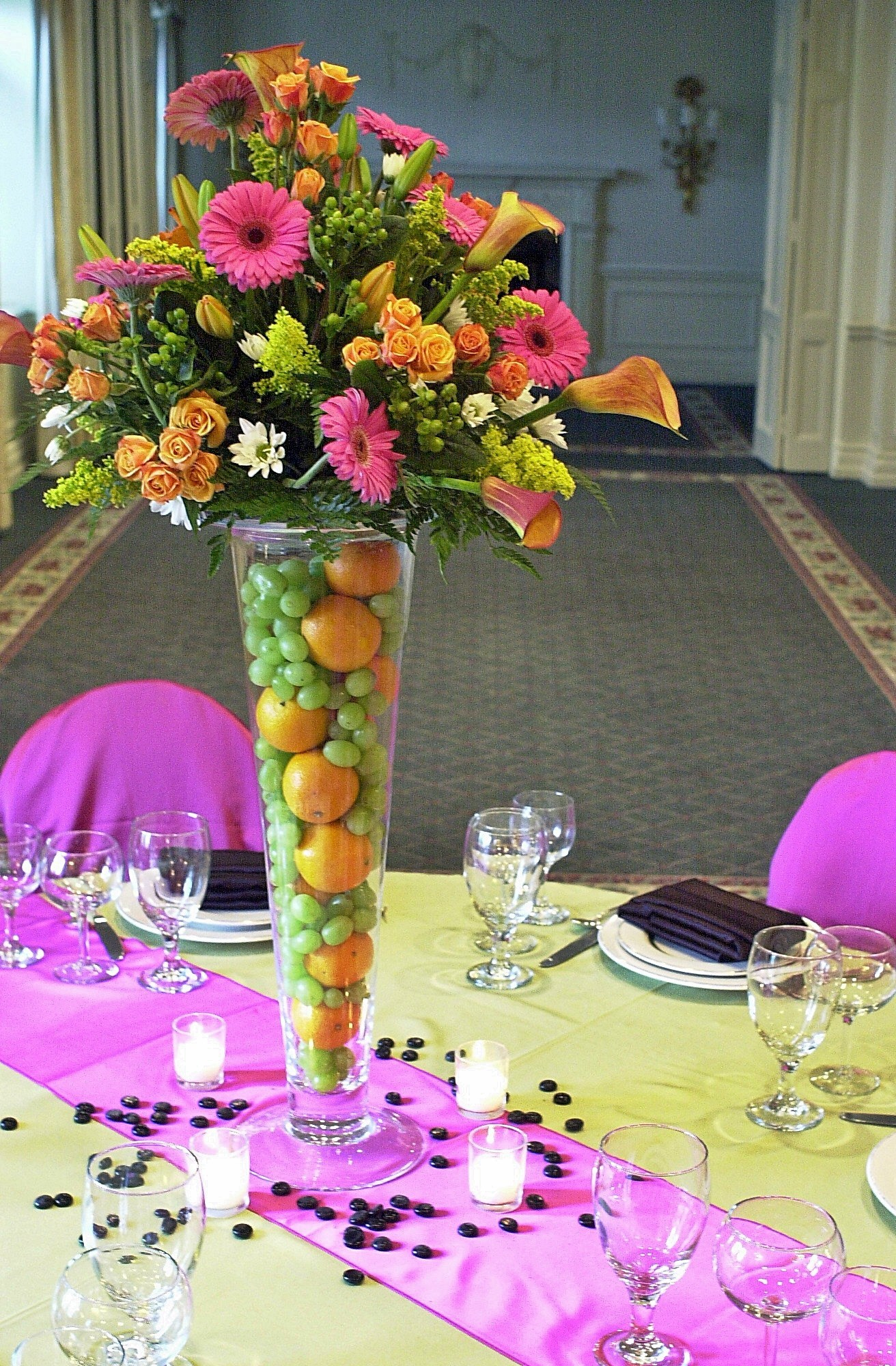 Flowers & Decor, Flowers, Fruit, And, Essential details