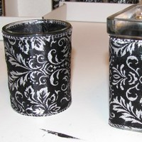 DIY, Reception, Flowers & Decor, black, silver, Centerpieces, Centerpiece