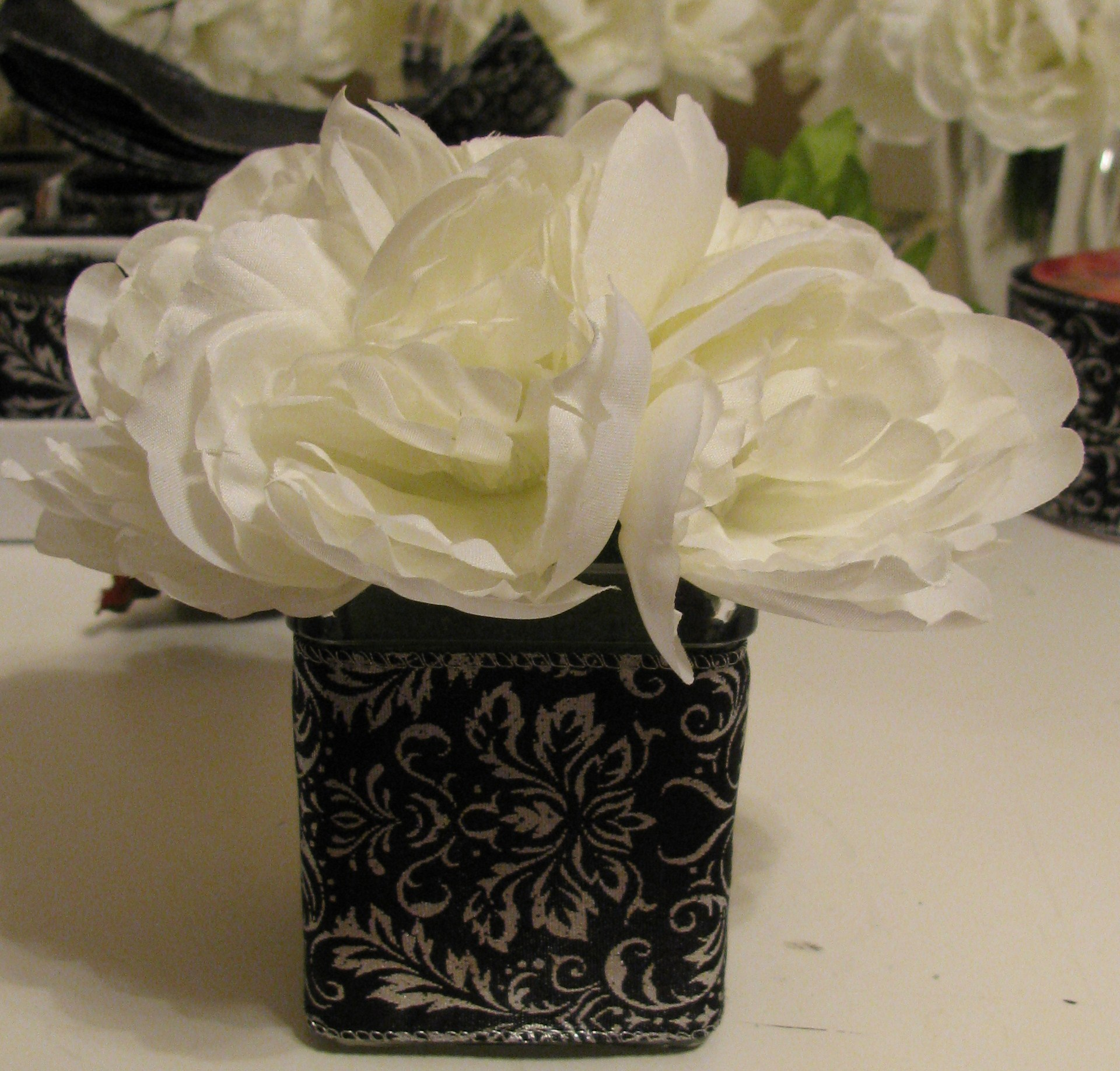 Ceremony, DIY, Reception, Flowers & Decor, Ceremony Flowers, Flowers, Peonies, Damask, Peony
