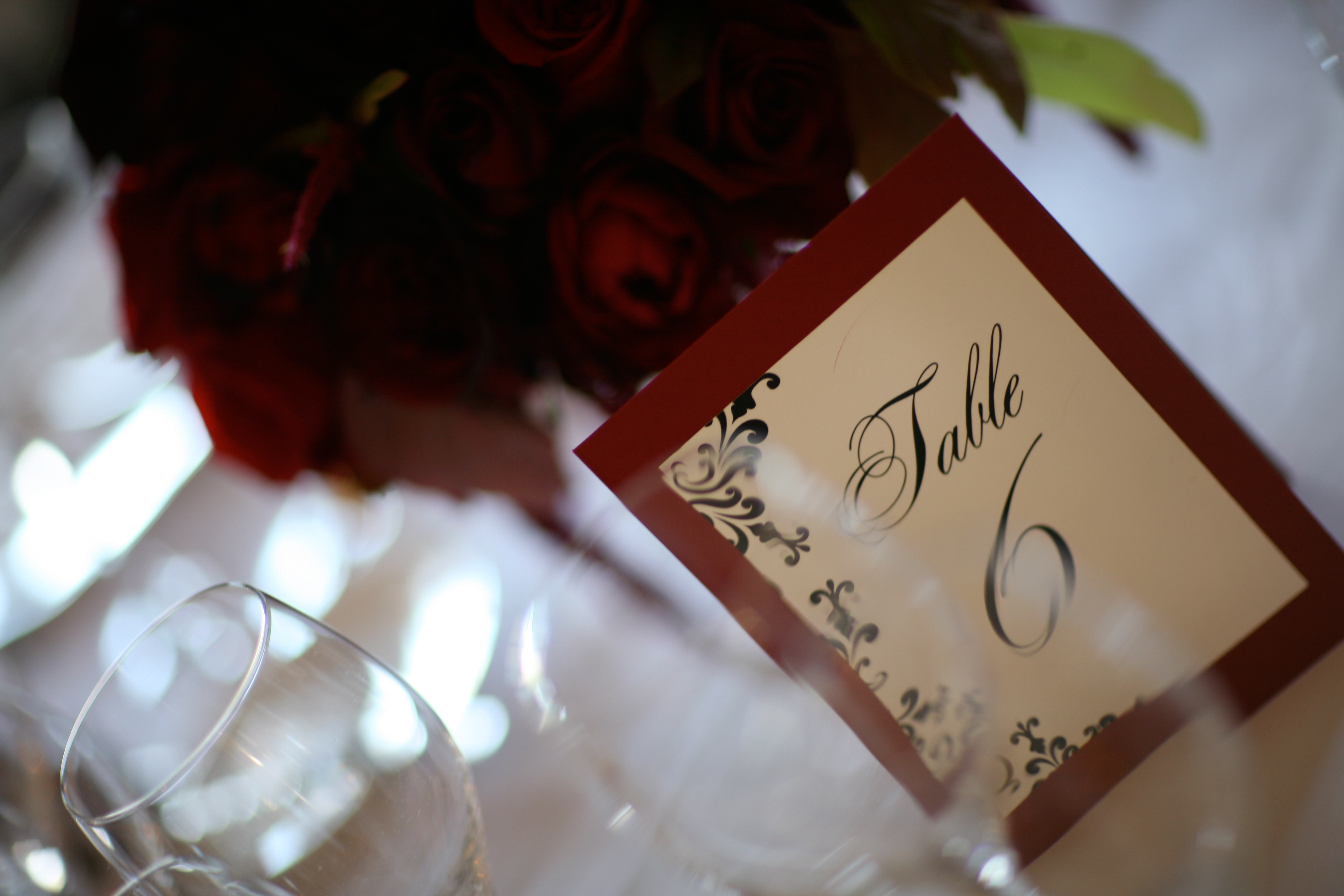 Stationery, red, Table Numbers, Table, Table number, San francisco, Fairmont, Downey street events, Annie mcelwain, Vinage
